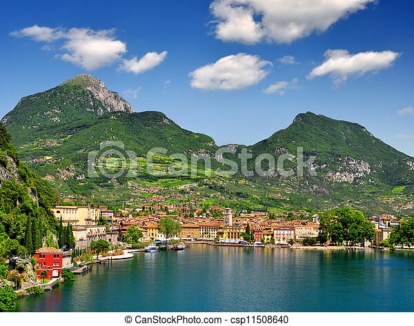 the city of Riva del Garda - csp11508640