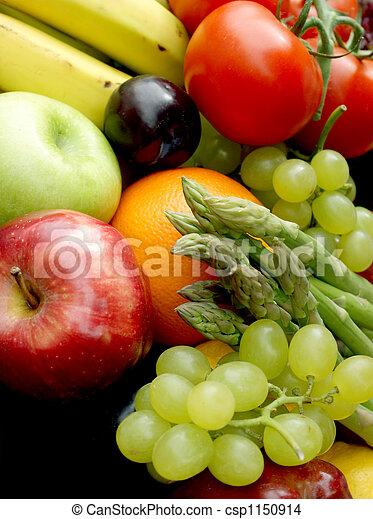 蔬菜, 水果 - csp1150914
