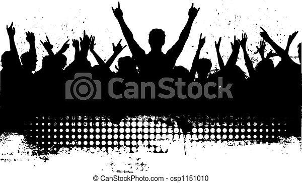 grunge audience - csp1151010