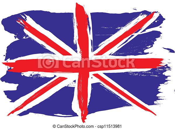 Vetor de inglaterra bandeira grunge inglaterra grunge - Dibujo bandera inglesa ...