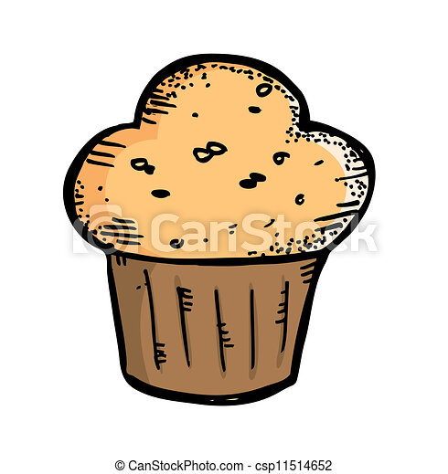 Clip Art Muffin Clip Art muffin illustrations and clipart 16907 royalty free in doodle style