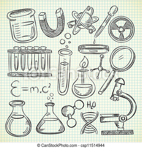 how to draw science stuff