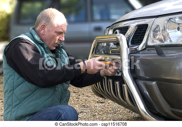 automobile registration - csp11516708