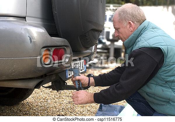 automobile registration - csp11516775