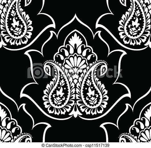 vecteurs de traditionnel paisley papier peint csp11517139 recherchez des images graphiques. Black Bedroom Furniture Sets. Home Design Ideas