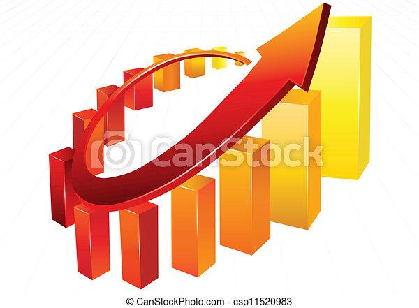 Business chart - csp11520983