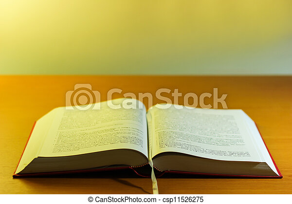 Buddhist religion book - csp11526275