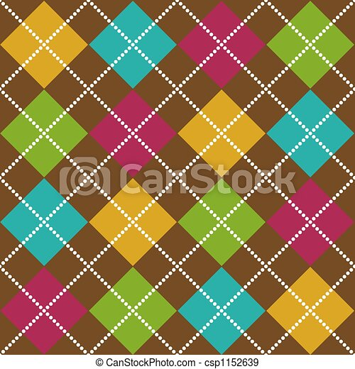 Bold Argyle Pattern - csp1152639
