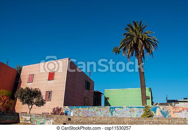 Building in Historic Neighborhood - csp11530257