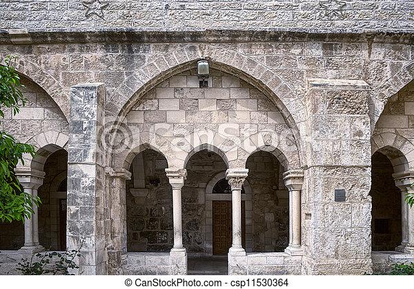 Church of Nativity in Bethlehem - csp11530364