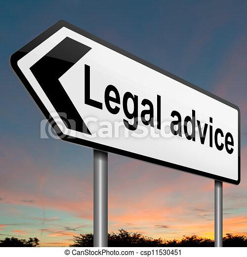 Legal advice. - csp11530451