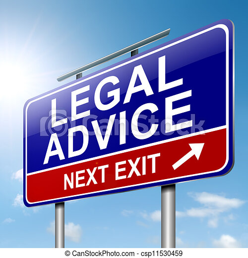 Legal advice. - csp11530459