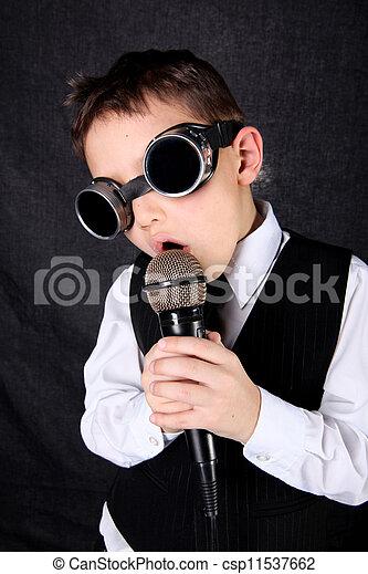 little boy singer