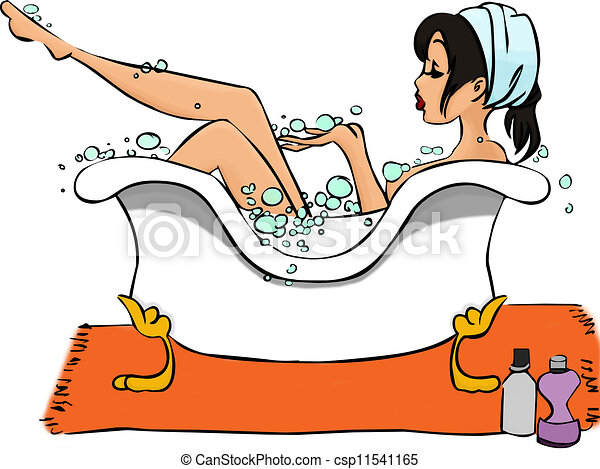 Bathtub Stock Illustrations 6128 Bathtub clip art images and
