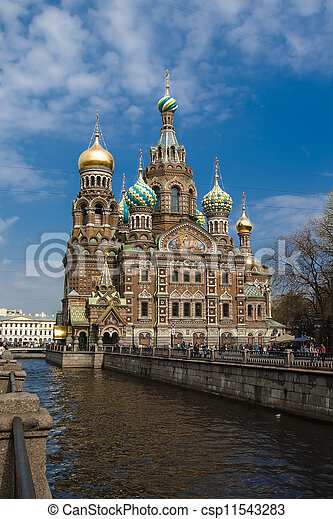 Church of the Savior on Blood - csp11543283