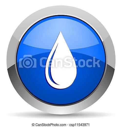 water drop icon - csp11543971