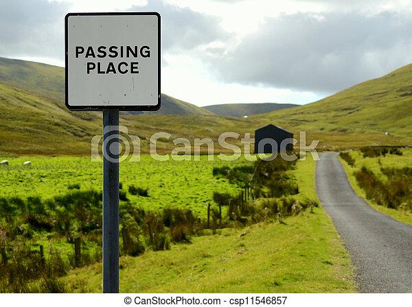 Rural Road - csp11546857