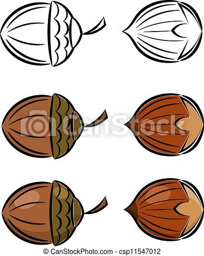 Comment dessiner des noisettes - Dessin noisette ...