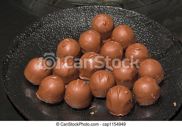 Chocolate Cordials - csp1154949