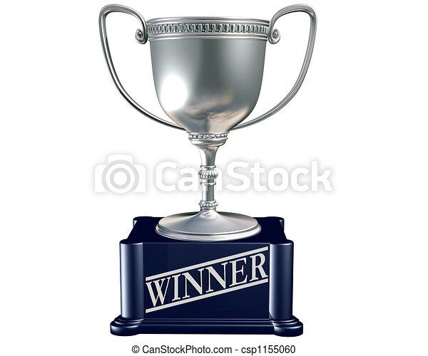 Silver Winner trophy - csp1155060