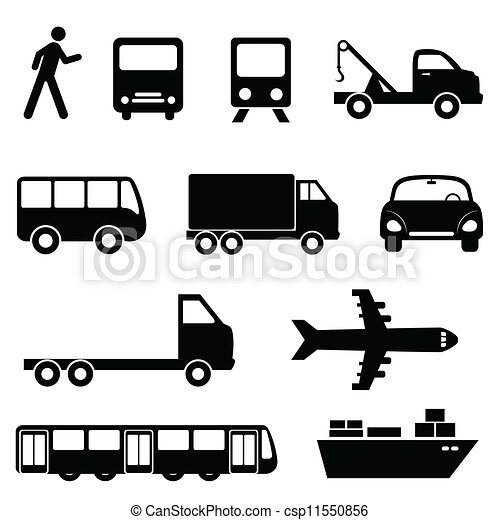Transportation icon set - csp11550856