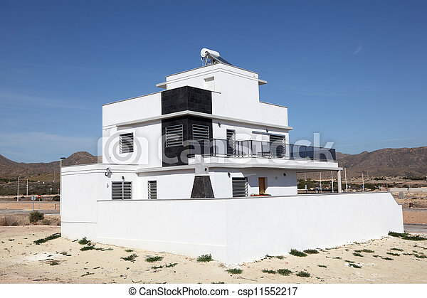 Modern residential house in Europe - csp11552217
