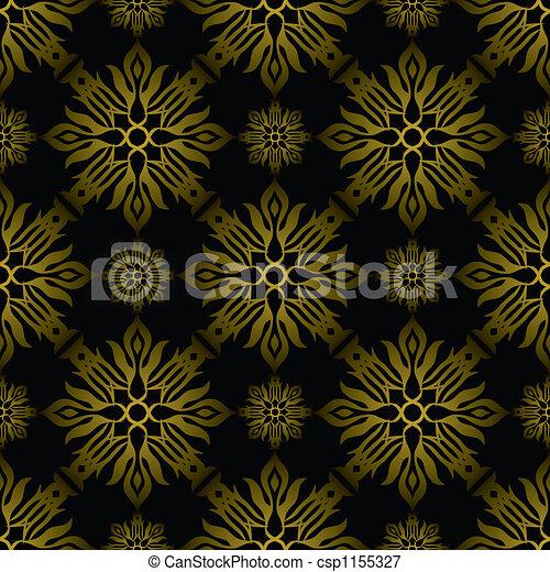 Foto de inca azulejo ouro dourado papel parede for Sala de estar 3x5