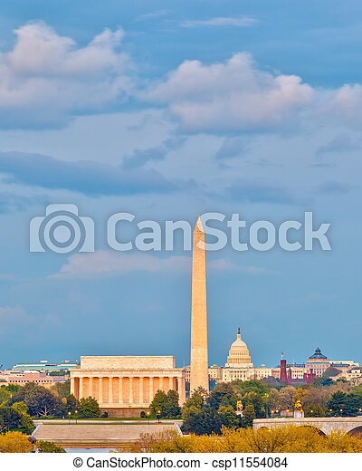 Landmarks in Washington DC - csp11554084