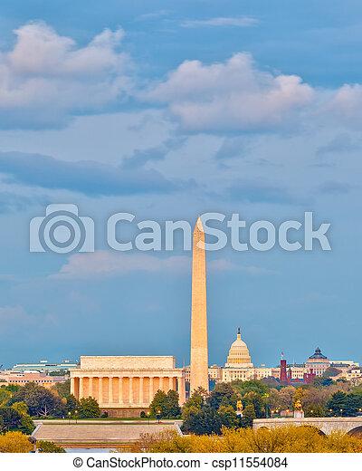 Landmarks in Washington DC - csp11554084