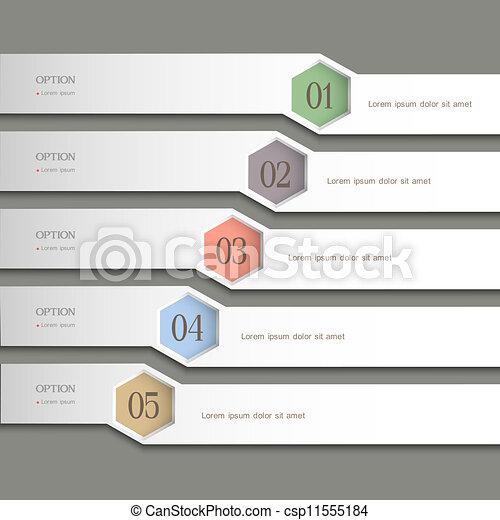 Trendy Design template - csp11555184