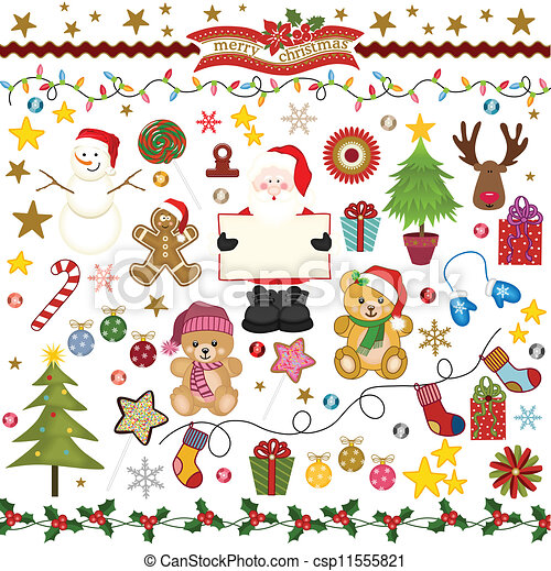 Christmas Digital Scrapbook - csp11555821