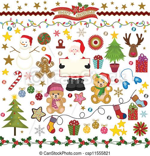 Christmas Digital Scrapbook - csp11555821