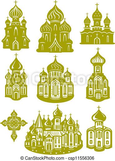 church orthodox - csp11556306