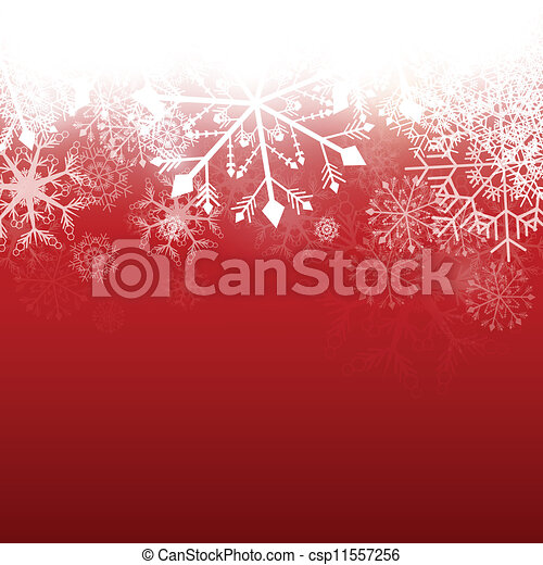Vector Winter Background - csp11557256