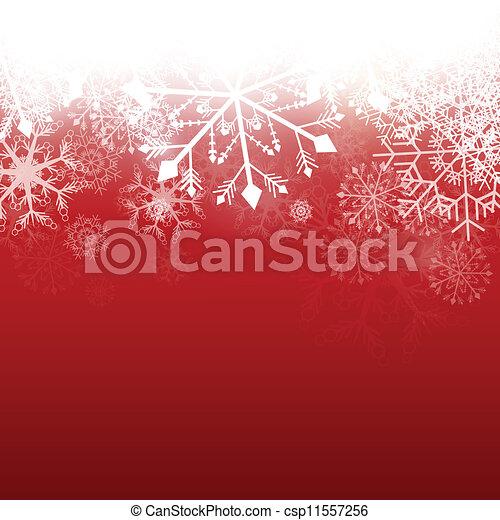 Vector Winter Background - csp11557256
