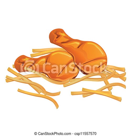 Clip Art Chicken Wing Clip Art chicken wings illustrations and clipart 5100 vector french fries illustration