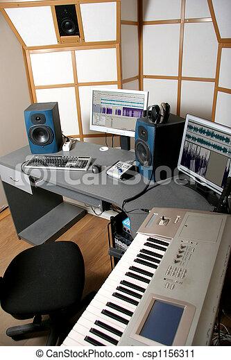 audio studio - csp1156311