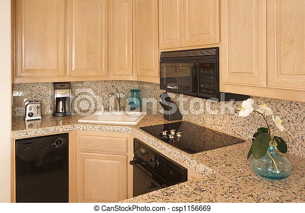 interno, moderno, cucina - csp1156669