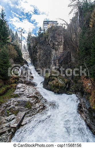 Waterfall in Bad Gastein - csp11568156