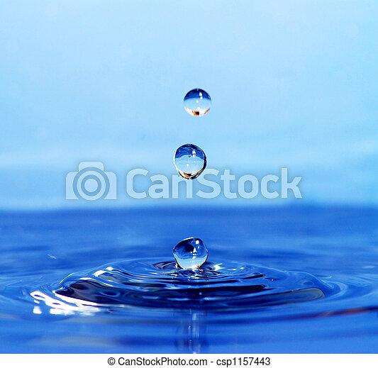 水, 下降 - csp1157443