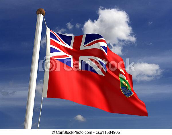 Manitoba flag Canada - csp11584905
