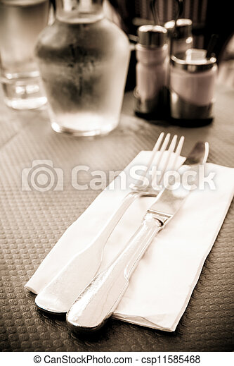 place setting - csp11585468