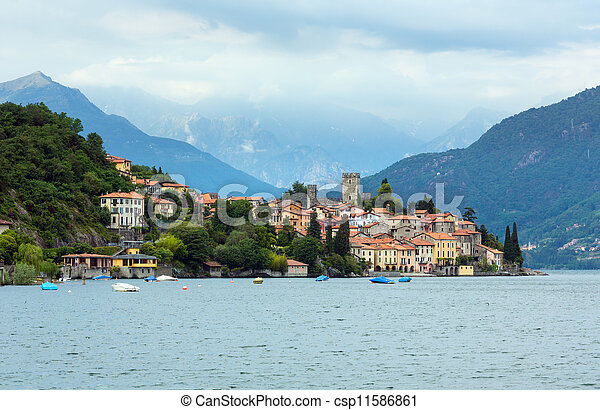 Lake Como (Italy) view - csp11586861