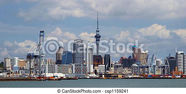 Auckland City New Zealand - csp1159241