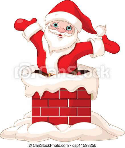 ... santa, Claus,... csp11593258 - Buscar Clip Art, Ilustración, EPS de