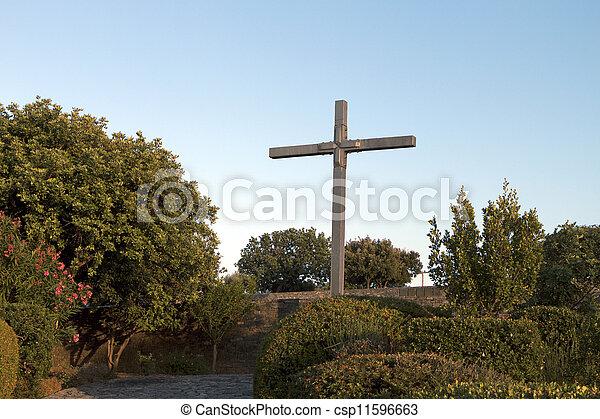 Military cemetery Crete, Greece - csp11596663