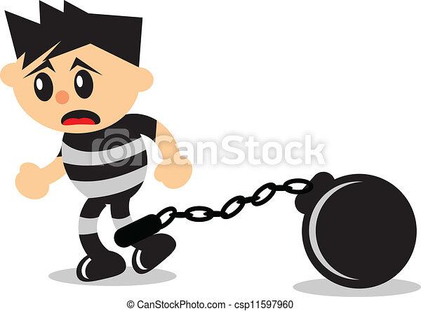 Prisoner Stock Illustrations. 11,516 Prisoner clip art images and ...