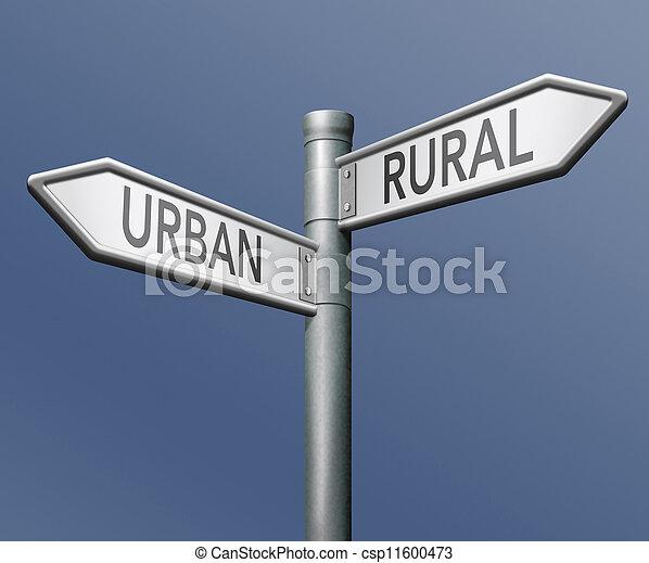urban or rural - csp11600473