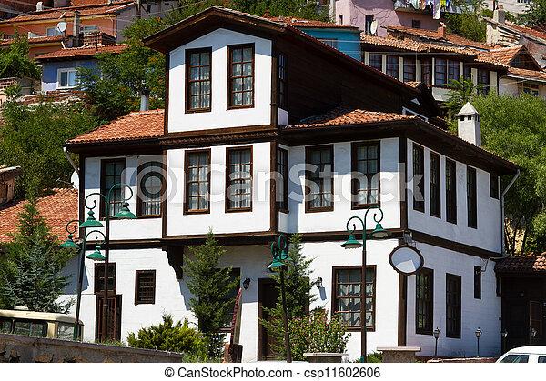 photographies de traditionnel ottoman maison kastamonu