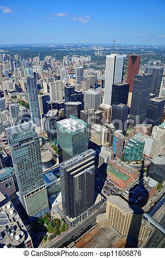 Toronto aerial - csp11606876